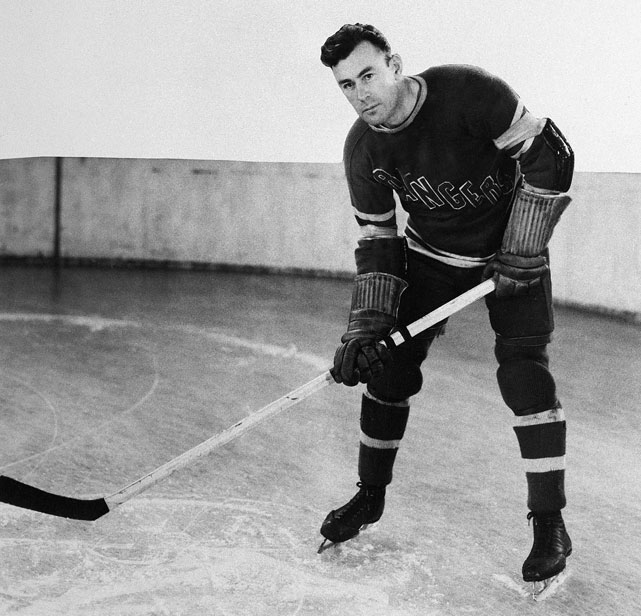 Inducted into the Hockey Hall of Fame in 1952, Cook played his entire NHL career with New York. He was the first player signed by the Rangers and their first captain, joining his brother, Bun, on the club in 1926 and leading it to its first two Stanley Cups (1928, '33). He topped the Rangers in goals six times, was NHL scoring champion twice, wore the C from 1926 to 1937, and later coached New York for two seasons. He did all this after spending two years with the Canadian Field Artillery during World War I and later serving in Siberia as part of a subsequent Allied intervention in the Russian Civil War.