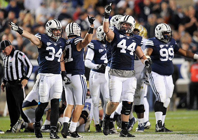 BYU is in a difficult situation as college football transitions to a long-awaited four-team playoff system.