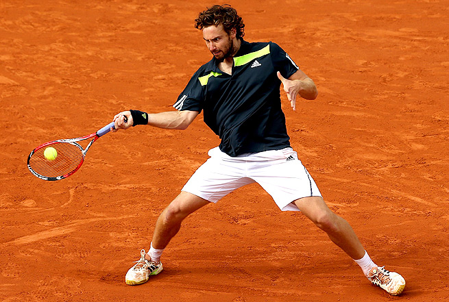 Ernests Gulbis will take on Novak Djokovic Friday in his first Grand Slam semifinal.