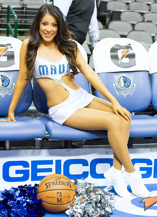 "Meet Emily of the Dallas Mavericks, a self-proclaimed procrastinator who wishes she could sing like Beyonce and whose celebrity crush is Channing Tatum. ""What's not to like about a gorgeous guy who can act <italics>and</italics> dance!"" Read more about her in Sunday's version of Hot Clicks in Extra Mustard."