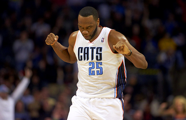 <bold>1st Team Votes: 4 | Points: 191</bold> <bold>21.8 points | 10.8 rebounds | 1.1 blocks | 0.9 steals</bold> Jefferson led the Bobcats to their second playoff appearance in franchise history, ranking eighth in rebounding and 11th in scoring.