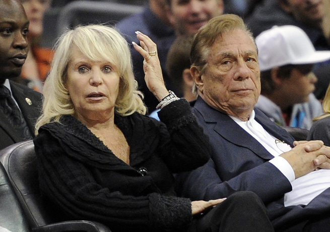Donald Sterling (right) and Shelly Sterling have finally relinquished their roles as Clippers owners.