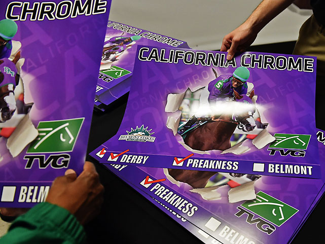 Three tough races in five weeks proved too demanding for California Chrome. Affirmed remains the most recent Triple Crown winner -- in 1978.
