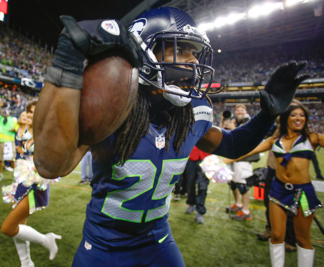 Seattle Seahawks defensive back Richard Sherman won the Madden NFL 15 Cover Vote, topping Carolina Panthers quarterback Cam Newton in the finals as the winner of the fan-voted cover. Superstitious fans of the Seahawks likely cringed at the news while fans of the Panthers probably breathed a sigh of relief. If you're not familiar with it, the Madden Curse is the phenomenon where whomever is on the cover of the game suffers at least a season, if not a career, collapse. Here's a look at the progression of the Curse. NOTE: Each Madden cover is dated a year ahead of its actual release. For example, Madden 99 was available prior to the 1998 season and Madden 13 prior to the 2012 season.