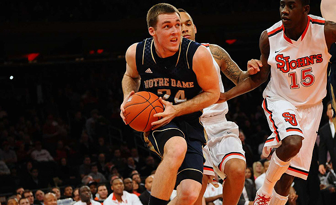 Pat Connaughton has averaged 8.0 points, 4.6 rebounds, and 1.5 assists per game in three years for the Irish.