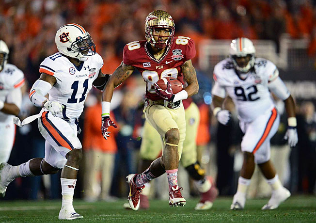 After winning the BCS title last season, Rashad Greene and Florida State enter 2014 as playoff favorites.