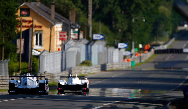 With a record 16 titles, Porsche is back at Le Mans to give Audi and Toyota a run for their Euros.