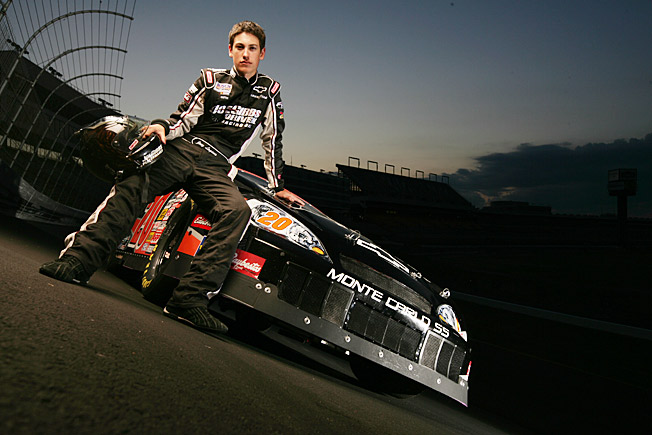 At 17, the hotshot Logano won the NASCAR East Series title and rookie of the year honors.