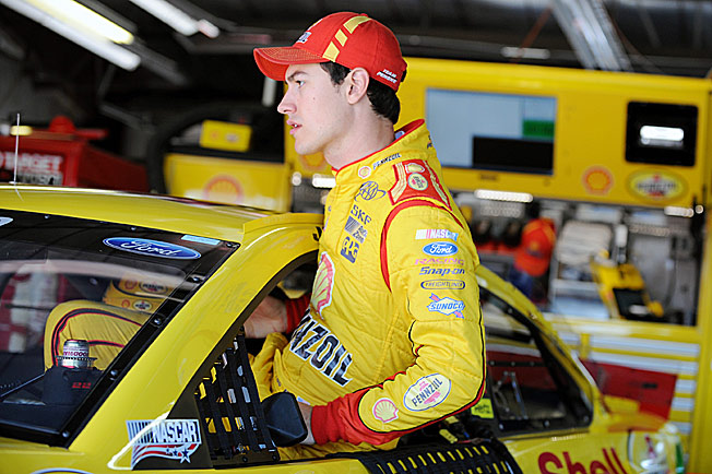 Meeting or exceeding expectations has been Joey Logano's greatest challenge as a Sprint Cup driver.
