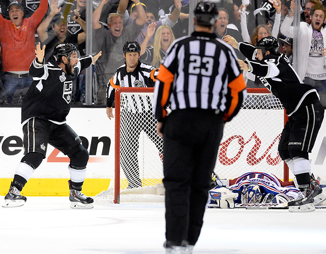 SI's best shots from the Los Angeles Kings Stanley Cup-clinching victory over the New York Rangers in double overtime of Game 5.