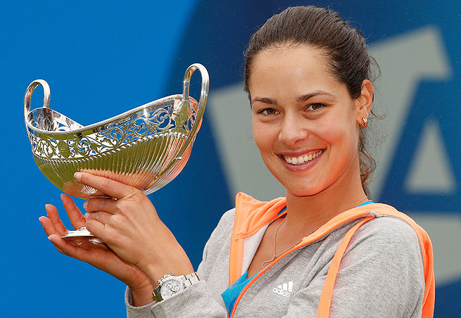 Ana Ivanovic's grass court win positions her well for Wimbledon, where she made the semis in 2007.