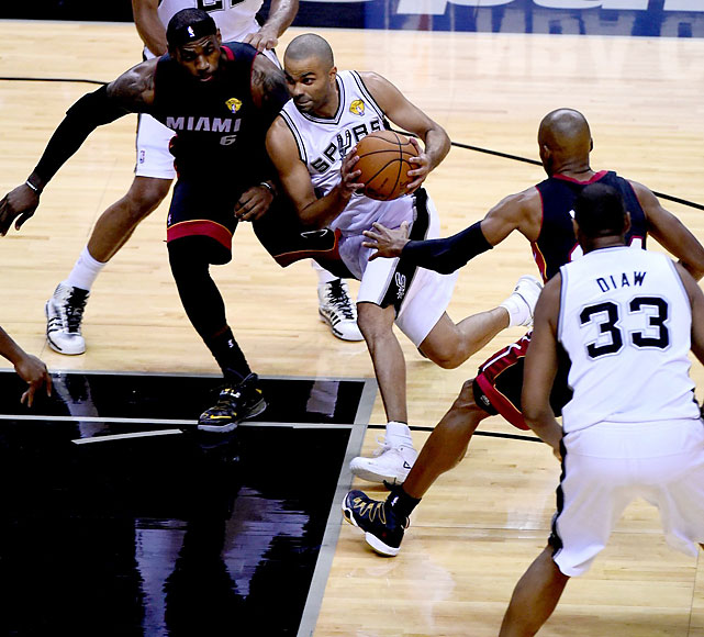 Tony Parker also has four NBA crowns now.
