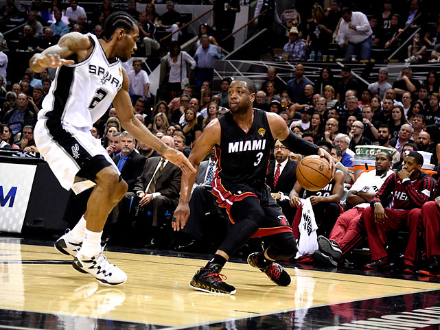 Dwyane Wade did little to help Miami out in Game 5, scoring just 11 points on 4-of-12 shooting.