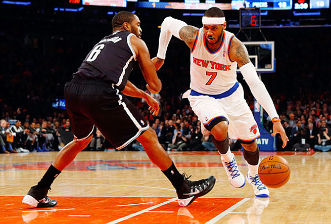 Carmelo Anthony can sign for more money and an extra year with his incumbent team, the Knicks.