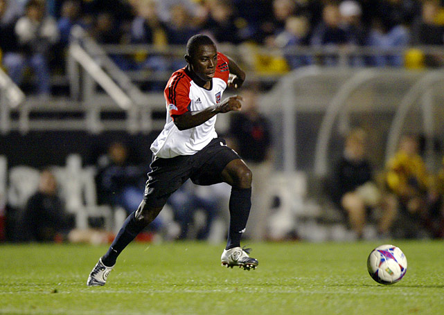 Age: 14 years, 10 months, 1 day |                                                      Adu, supposedly America's great soccer prodigy, became the youngest player to appear in a game and the youngest to score -- during the 2004 season with D.C. United. But he struggled to reach the lofty expectations, and at age 25 has yet to become a mainstay in the United States national side.