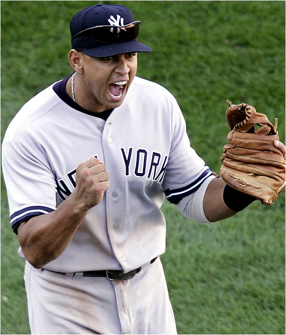 A-Rod did it all last season hitting .321 with 48 dingers, 130 RBIs, 124 runs, and 21 steals on his way to winning the AL MVP. He is one of the games most consistent hitters and never takes days off. He isn't just the tops at 3B, he may be the best overall player in the game.