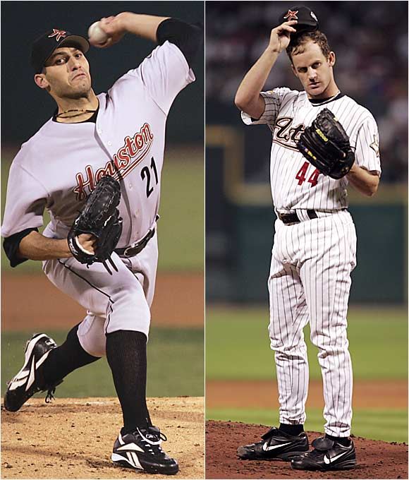 Oswalt is 4-0 in seven career postseason starts while Pettitte is 14-9 in 34 playoff outings.