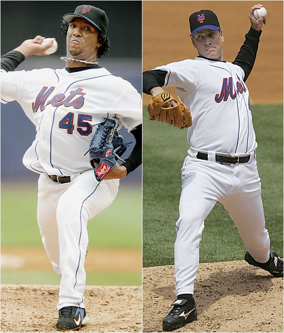 These wily veterans boast five Cy Young awards between them.