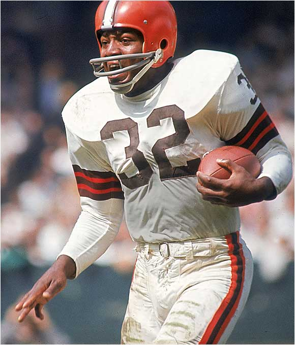The Browns were certainly lucky Brown fell to No. 6. He may not hold all the records, but it's easy to argue he's the best running back of all time. Slingin' Sammy Baugh, James Lofton, John Riggins and current Pro Bowl offensive tackle Walter Jones also were picked sixth overall.