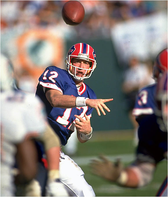 The Bills drafted him in the great QB class of '83 but had to wait until '86 to get him, since he took a detour to the USFL. But when Kelly arrived in Buffalo, he was the consummate leader, taking the Bills to four Super Bowls.