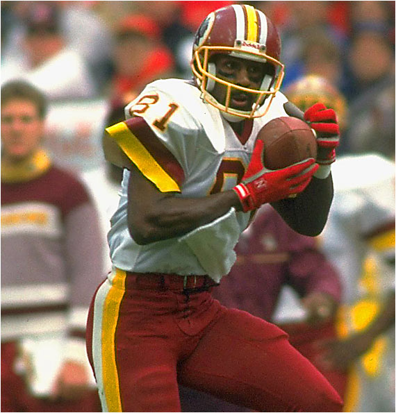 He ended his career as one of the most prolific receivers in NFL history. When he retired in 1995 he held the NFL records for receptions (940), single-season receptions (106) and most consecutive games with a catch (183). He wasn't flashy, but Monk always produced, helping the Redskins win three Super Bowls.