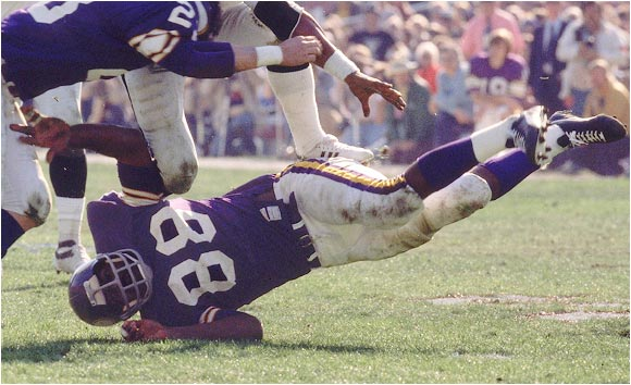 He was a dominating defensive tackle who played in 218 straight games and four Super Bowls for the Vikings and was named league MVP in 1971. Page became a lawyer and a judge on the Minnesota Supreme Court after he retired.