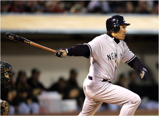 As a member of the rival Boston Red Sox, Damon always had a knack for hitting well at Yankee Stadium, now the Yankee centerfielder will play 81 games in the Bronx, where he will hope to take advantage of the 314 ft. wall in right field.