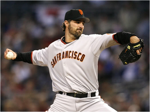 Coming off of a 14-win season last year with St. Louis, Morris has headed to the bay area to join Barry Bonds and the NL West-contending Giants. Alongside Jason Schmidt, Noah Lowry and a solid bullpen, the Giants could have the best arms in the division.