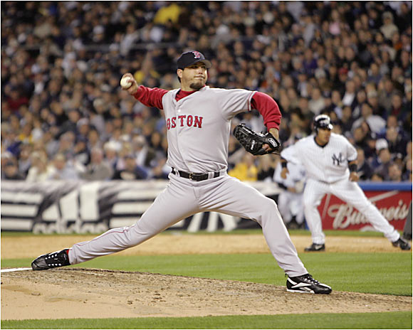 Former Marlins ace Josh Beckett returned to Yankee Stadium for the first time since his Game 6 shutout of the Bronx Bombers in the 2003 World Series. Now pitching for the Red Sox, Beckett surrendered only three runs over seven innings as Boston routed the Yankees 14-3 on Tuesday.