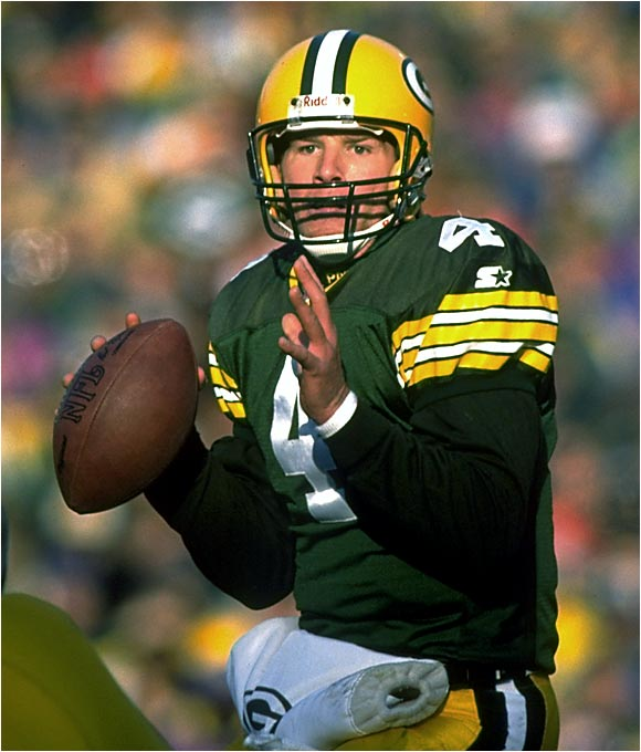 Although Brett Favre's brilliance is commonly acknowledged, people tend to overlook the Packers' offense as a whole. Green Bay put up 456 points during the 1996 season (compared with just 210 by their opponents), and in several blowouts the Packers called off the dogs late in the game. Favre tossed 39 touchdowns in '96, while Edgar Bennett and Dorsey Levens combined to give Green Bay a dangerous running game. The Pack beat New England 35-21 to win the Super Bowl that season.