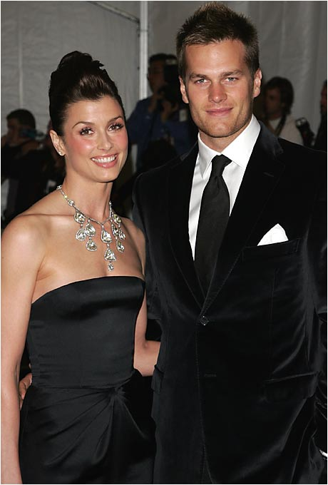 Many people envy Tom Brady, not only for his three Super Bowl rings but also for his girlfriend, actress Bridget Moynahan. The couple began dating early in '04.