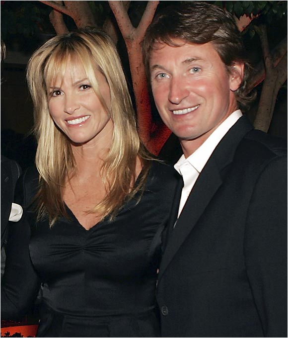 When Wayne Gretzky agreed to be a judge on the show 'Dance Fever' in 1984, he did not expect to meet his future wife, but that's exactly what happened when he met one of the dancers, Janet Jones. The two kept in touch after the show, started dating in '87 and were married a year later. The couple have five children and spend plenty of time in Phoenix, where Gretzky is head coach of the Coyotes.