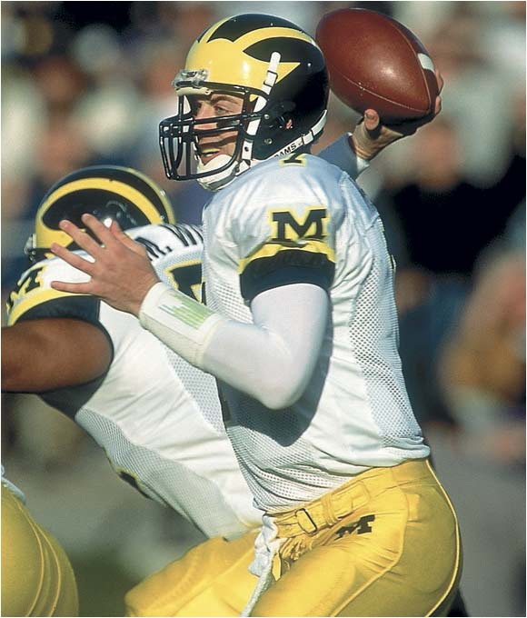 Even Michigan's high-powered offense, with Drew Henson hooking up with David Terrell, couldn't outscore NU's spread attack, which powered the `Cats to a share of the 2000 Big Ten title.