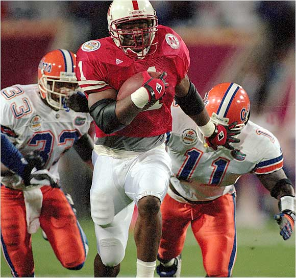The sixth overall pick in the 1996 NFL draft, the troubled running back out of Nebraska had abbreviated stints with the St. Louis Rams, Miami Dolphins, Barcelona Dragons and San Francisco 49ers before heading to the CFL, where he won the Grey Cup with Montreal in 2002.