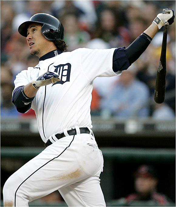 Ordonez missed the first half of 2005 with a sports hernia injury, then managed only eight home runs the rest of the way. He already has 11 blasts this year to go along with his .327 batting average.