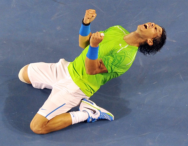 Nadal and Federer landed in the same half of a Grand Slam draw for the first time since the 2005 French Open, ending a 26-major streak. That led to a showdown in the semifinals, where Nadal showed some brilliant shotmaking in his victory. Nadal improved to 8-2 against Federer in Grand Slam tournaments, including 2-0 at the Australian Open.    Nadal leads series 18-9.