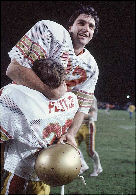 "The ""Miracle in Miami"" brought Flutie national fame and helped him win the Heisman Trophy over Bernie Kosar."