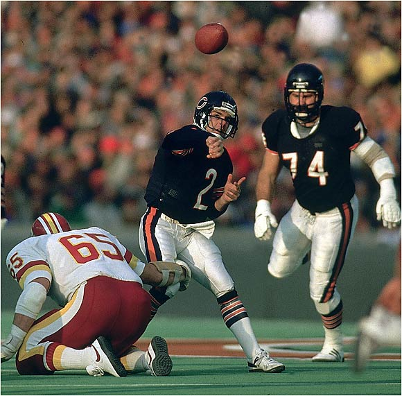 In 1987, with the NFL locked in a labor dispute, Flutie crossed the picket line and started several games for the Chicago Bears.