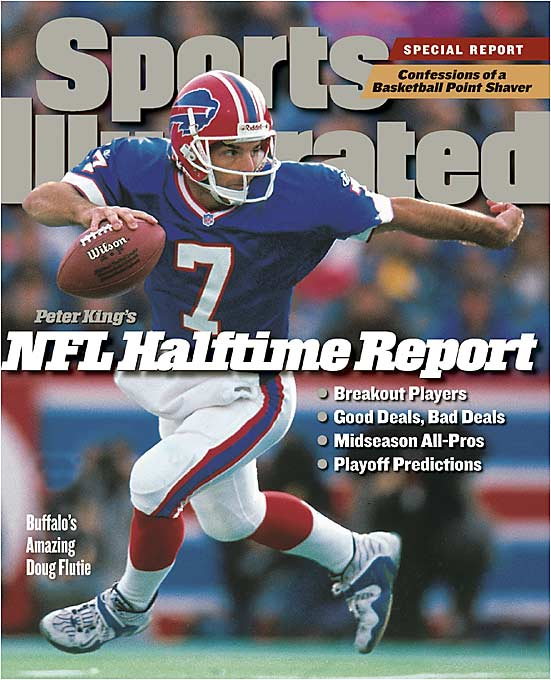 Flutie led the Bills to a 10-6 record in 1998 and was named the Comeback Player of the Year before becoming embroiled in a quarterback controversy with Rob Johnson.