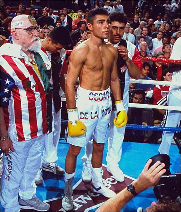 """I feel like I waited for this moment all my life,"" said De La Hoya shortly after making his pro debut in front of a wildly supportive crowd of 6,185 at the Great Western Forum in Los Angeles. ""I tried to make it last."" If so, he failed, dispatching the hapless Williams with a very professional left hook to the liver, just 1:42 into the first round."