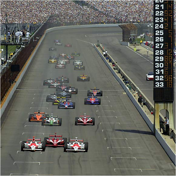 There's nothing quite like watching the race cars zoom past the packed grandstands at Indianapolis Motor Speedway.