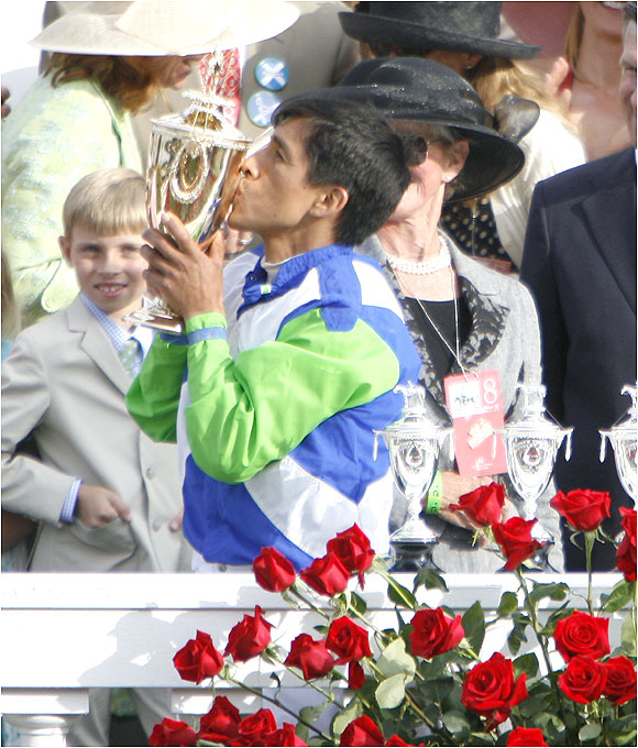 Barbaro's convincing win gave Prado the first Kentucky Derby win of his career in seven starts.