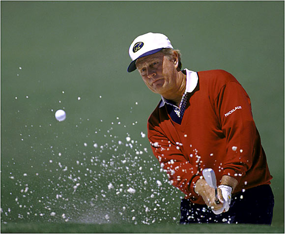 Nicklaus won six Masters, five PGA Championships, four U.S. Opens and three British Opens for a total of 18 Grand Slam titles. That's more than Ben Hogan and Arnold Palmer combined. With 10 Grand Slam wins under his belt, Tiger Woods still has a ways to go to catch the Golden Bear.