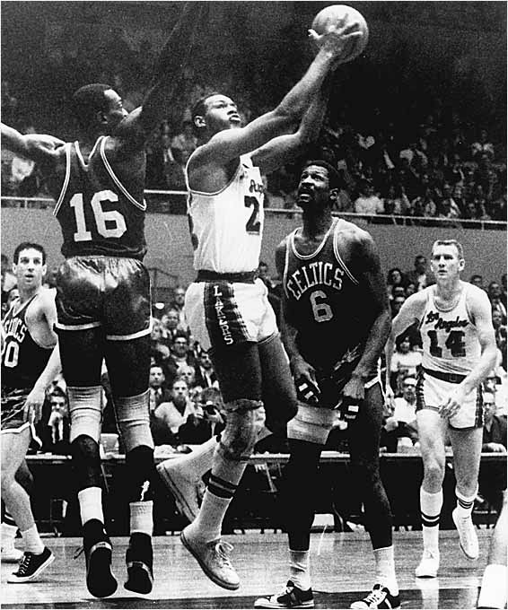 He was an NBA force right out of the gate, winning Rookie of the Year in 1959 on his way to becoming an 11-time NBA All-Star, 10-time All-NBA and the league's third all-time leading scorer. But Baylor never won a championship despite making eight appearances in the Finals. He was forced to retire nine games into the 1971-72 season because of lingering knee issues. In a cruel twist of fate, the Lakers went on to win 33 straight games beginning with the game after his retirement and also won the NBA championship.