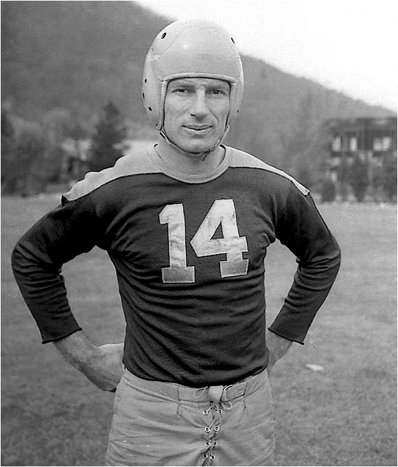 This eight-time NFL receiving champion wore Number 14 as he terrorized defenses from 1935 to 1945.