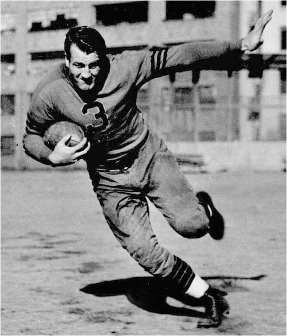 A powerful rusher and a bone-crushing linebacker, Nagurski dominated in the 1930s while sporting Number 3.