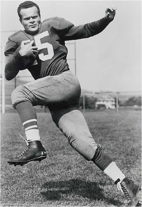 In his Number 15 jersey, Van Buren won four rushing titles and helped the Eagles rule the NFL in the late 1940s.