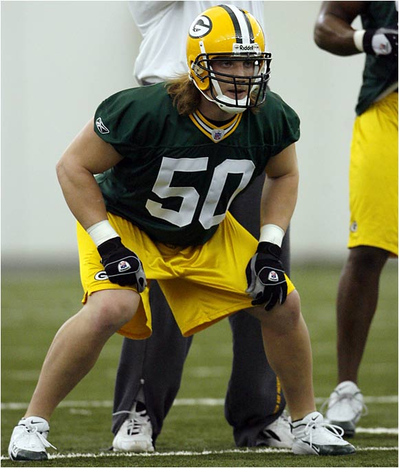 "Hawk worked out with the Packers' starting unit and will be their weakside linebacker. It wouldn't be surprising if Hawk is expected to be a leader for Green Bay's defense immediately. Brett Favre said that Hawk looks like a ""Packer type of guy."""