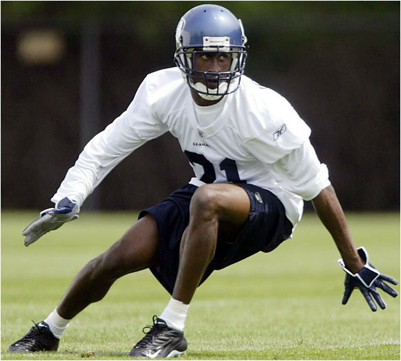 Jennings worked out with the second team behind Kelly Herndon. The 29-year-old Herndon suffered a partial tear in his meniscus but was participating in minicamp and looks like he can hold off a challenge from Jennings. The main concern about Jennings is his thin frame (he weighs about 178 pounds), but the `Hawks will have to see him in pads to know if he can handle full contact in the NFL.