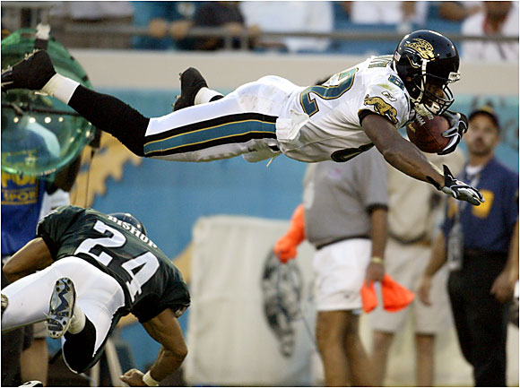 While the national spotlight often was on Terrell Owens and Randy Moss, Smith, who announced his retirement on May 11, quietly racked up big numbers for the Jaguars every year. Since 1996, Smith has had more catches and yards receiving than everyone except Marvin Harrison. Smith ended his career ranked seventh in NFL history with 862 receptions and 11th in receiving yards.
